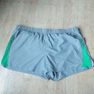 Grey Patagonia Strider Running Shorts- L EUC